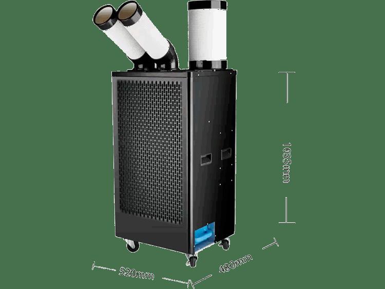 5KW移动冷气机(5000W大两匹)