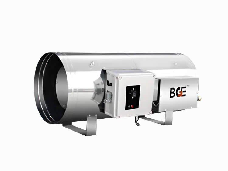 节能猫BGA1801-90-F天然气/液化气热风机 90kw高制热量燃气暖风机